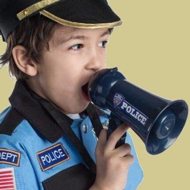 Megafono Polizia Giocattolo