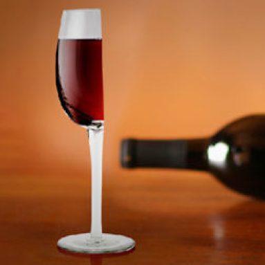 Mezzo Bicchiere Di Vino