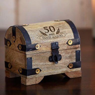 Mini Forziere Per Regalo 50 anni