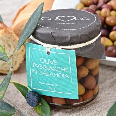 Olive Taggiasche In Barattolo
