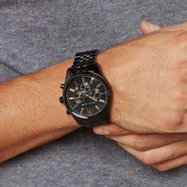 Orologio Michael Kors Acciaio Nero