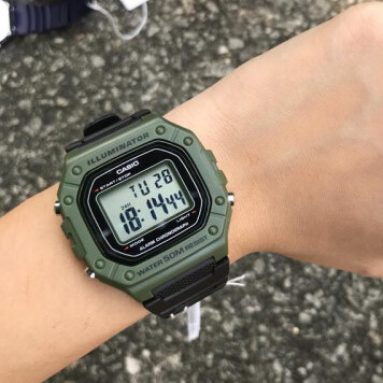 Orologio Casio Illuminator Verde