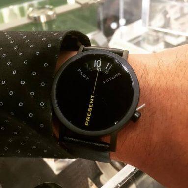 Orologio Passato, Presente E Futuro