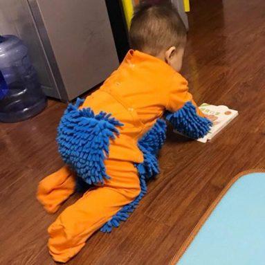 Pagliaccetto Lucida Pavimenti Per Neonato