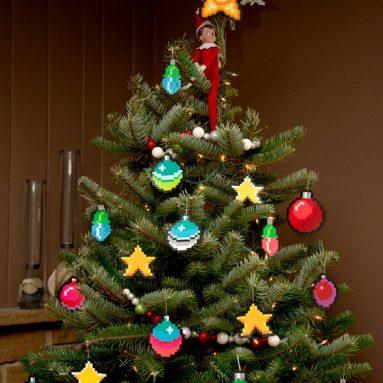 Palle Di Natale 2D A 8 Bit