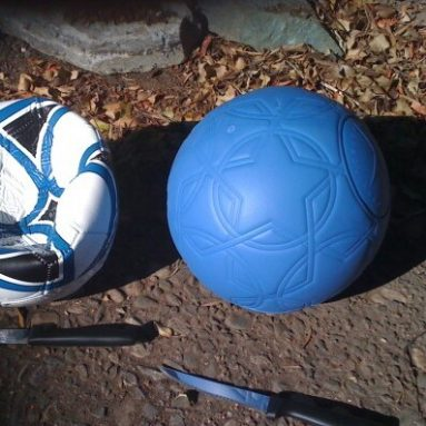 Pallone Da Calcio Indistruttibile