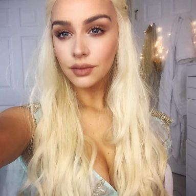 Parrucca Daenerys Targaryen