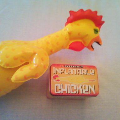 Pollo Di Gomma Gonfiabile D'Emergenza