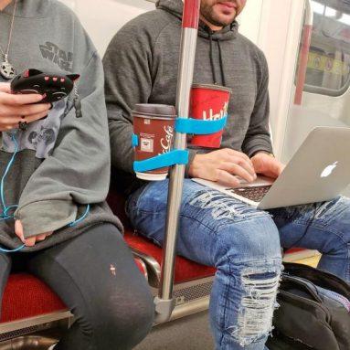 Porta Bicchiere Per Trasporti Pubblici