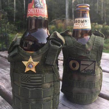Porta Birra Tattico Militare