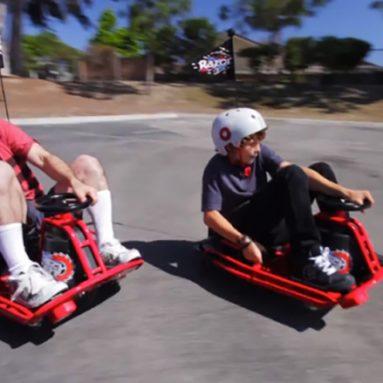 RAZOR Crazy Go-Kart Da Corsa