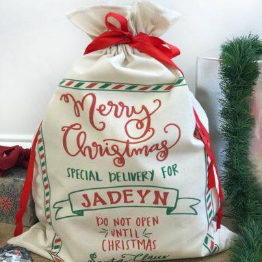 Sacco Babbo Natale Personalizzato