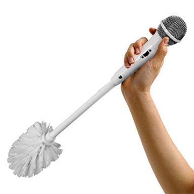 Scovolino Wc Microfono