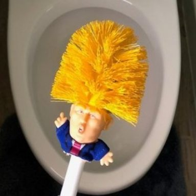Scovolino WC Donald Trump