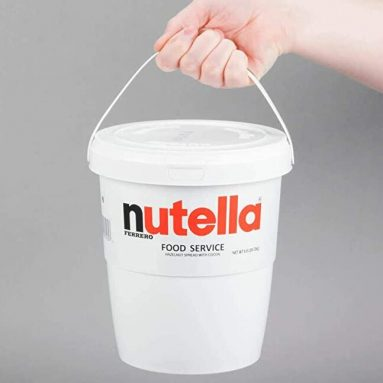Secchio Nutella Jumbo Da 3 Kg