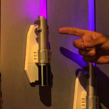 Lampada Spada Laser Star Wars