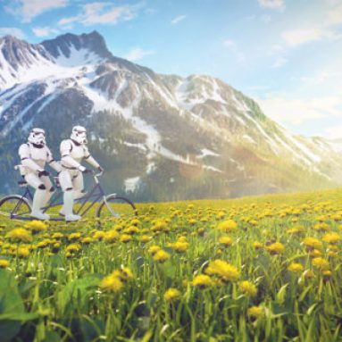 Stampa Stormtroopers In Tandem