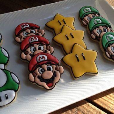 Stampi Biscotti Super Mario Bros