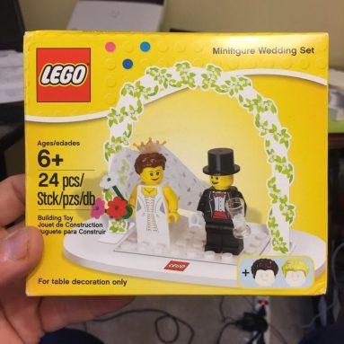 Statuina Sposi Lego