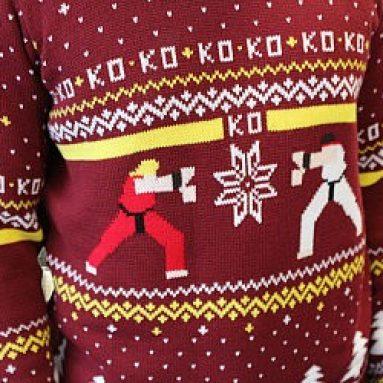 Maglione Natale Brutto Di Street Fighter