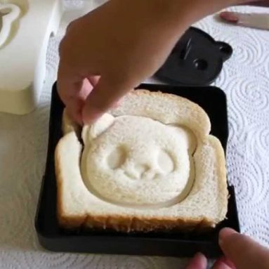 Taglia Sandwich A Forma DI Panda