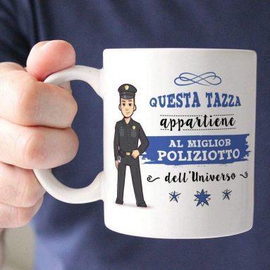 Tazza Per Miglior Poliziotto