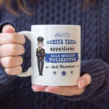 Tazza Per Miglior Poliziotta