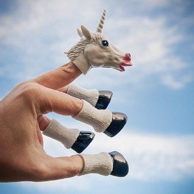 Set Unicorno Da Mano