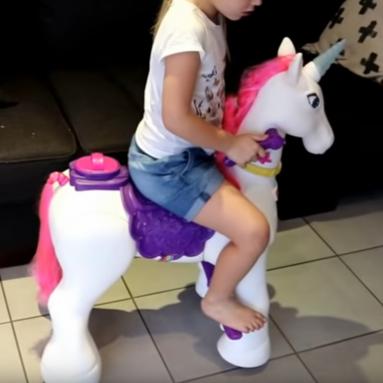 Unicorno Cavalcabile Motorizzato